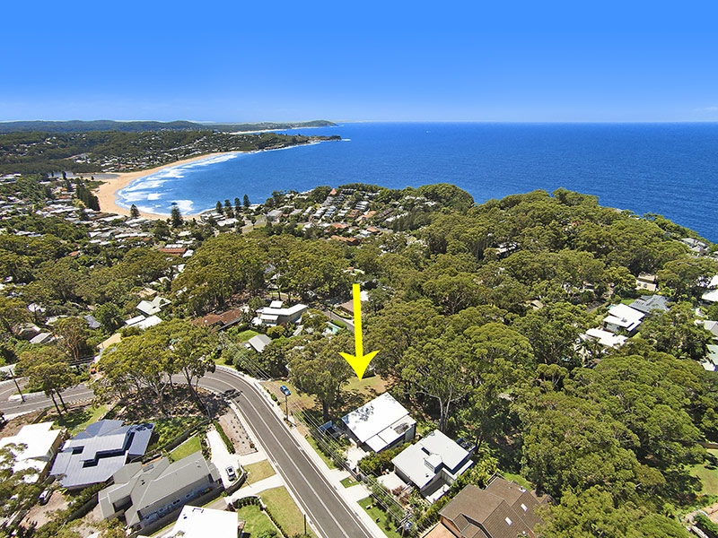 Avoca Beach Real Estate: RARE OFFERING - LAND WITH VIEWS